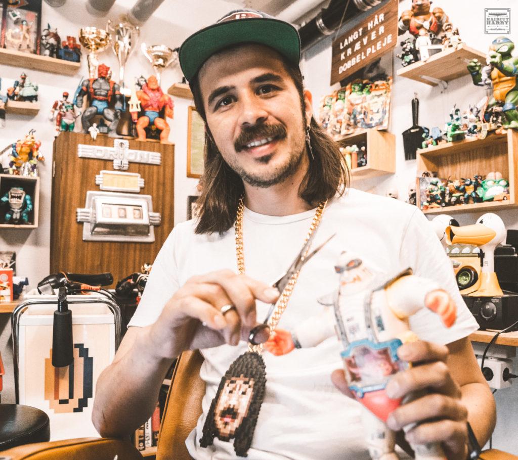 Retro Bobby's Arcade Barbershop Copenhagen