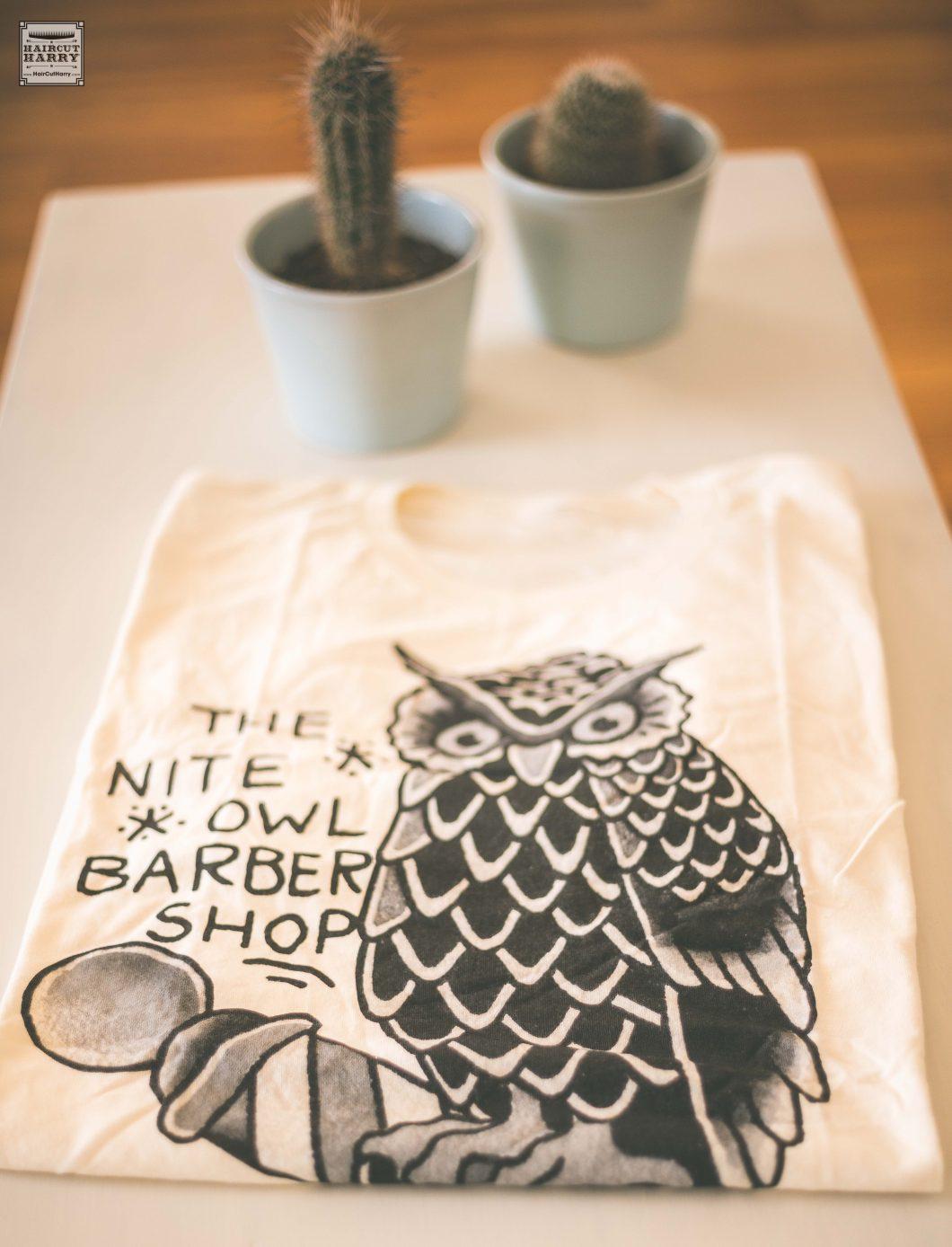 'Owl Design' Nite Owl T-Shirt Prize