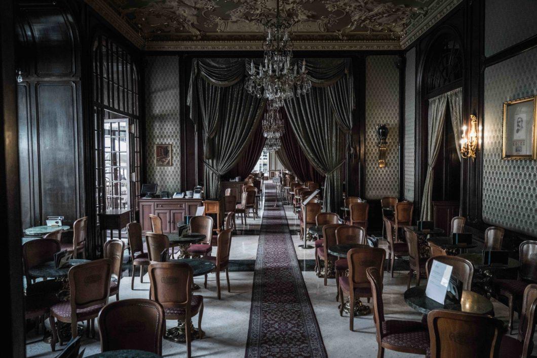 Budapest's Grand Cafes