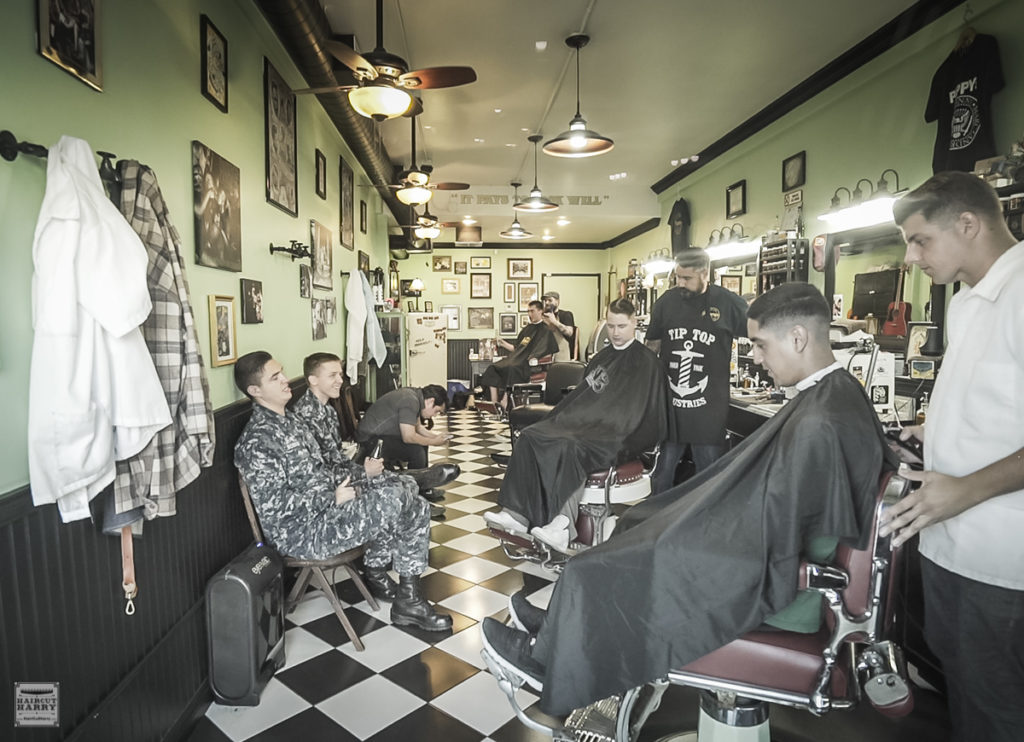 Inside Pappy's Barber Shop In San Diego