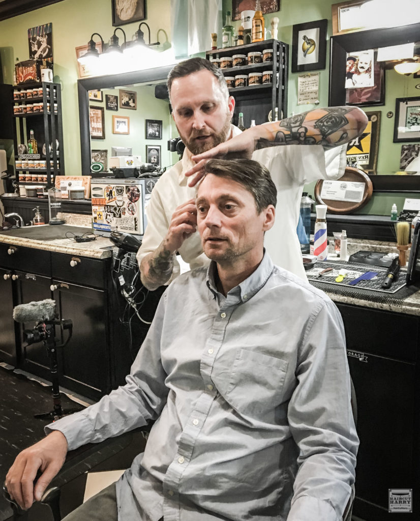 Catching Up With Marc At Pappy's Barber Shop In San Diego