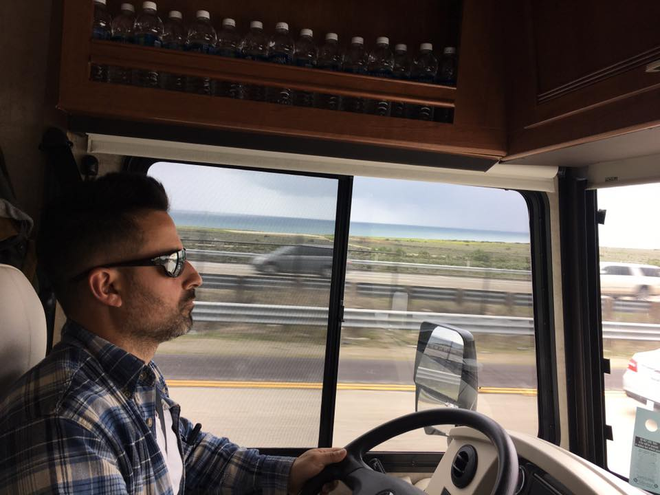 Profile photo of John driving the RV.