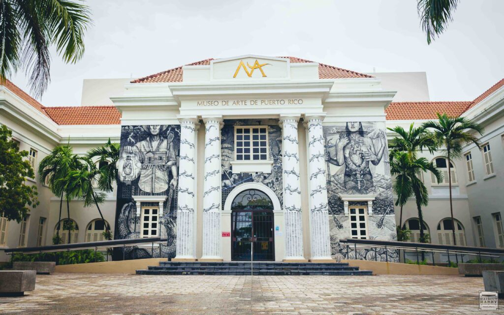 Exterior photo of Museo de Arte in San Juan, Puerto Rico.